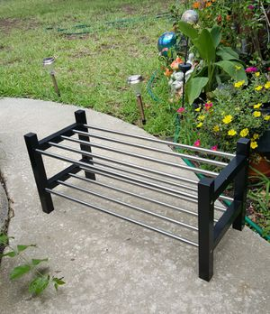Ikea Shoes Rack Tjusig home decor for Sale in Clearwater, FL