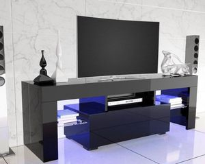 New black tv stand entertainment center wall unit 52 inches for Sale in Orlando, FL