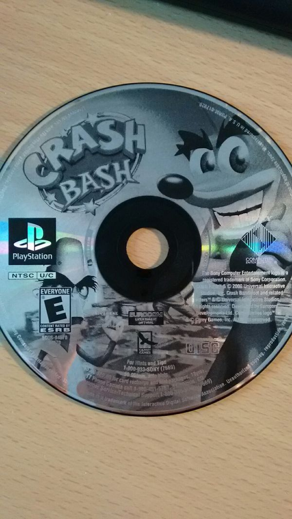 Original Crash Bash & DBZ Budokai