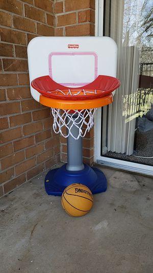 Kids basketball goal and ball set for Sale in Alexandria, VA