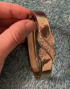 Shiny Gold Rhinestone Studded Bangle for Sale in Ithaca, NY