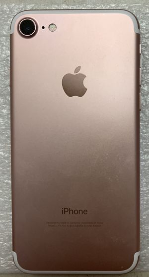 Unlocked for all carriers iPhone 7 32gb , great condition, no cracked no scratches, clean esn, Tmobile, metropcs, Sprint, telcel, Boots, AT&T,cricket for Sale in Phoenix, AZ