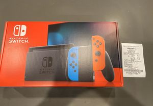 Brand new Nintendo Switch with receipt for Sale in Wheat Ridge, CO