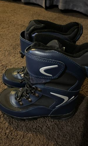 Kid size 1 boy rain snow boots never worn for Sale in Carson, CA