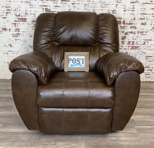 Leather blend rocker recliner chair for Sale in Canby, OR