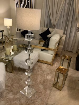 Crystal Floor Lamp $100 for Sale in Miami, FL