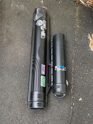 Fishing travel case poles for Sale in Melrose, MA
