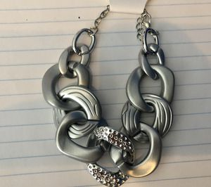 New Silver Chunky Link Bracelet for Sale in Parkville, MD