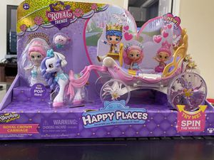 SHOPKINS HAPPY PLACES ROYAL CROWN CARRIAGE for Sale in Fort Lauderdale, FL