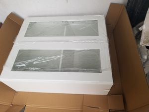 New glass cabinet never used 3ft tall by 30 inch wide for Sale in City of Industry, CA