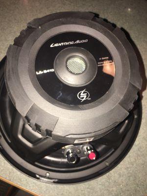 2 10 s lightning audio subwoofer!! for Sale in La Mesa, CA