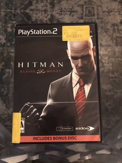 Hitman Blood Money For PlayStation 2 for Sale in Pompano Beach,  FL