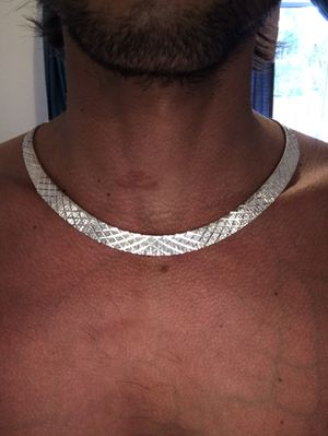 Sterling silver necklace for Sale in Vista, CA
