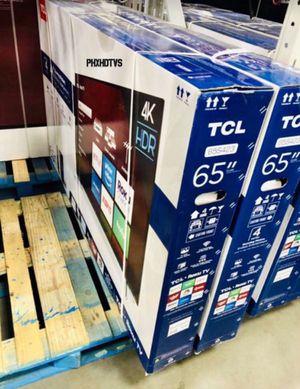"65"" TCL Roku Smart 4K UHD TV for Sale in Riverside, CA"