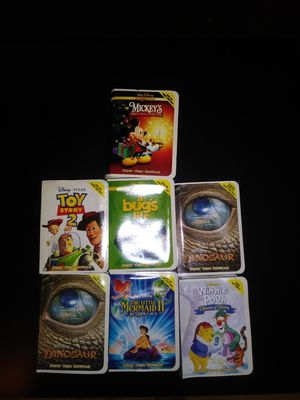 McDonald's 2000 Disney VHS Toys for Sale in Los Angeles, CA
