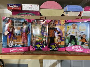 1997 Halloween Barbies set a four for Sale in Lehi, UT