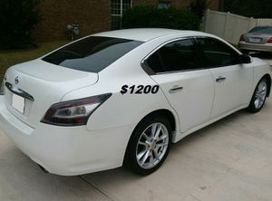 Fully Maintained$1200 I'm Selling my 2013 Nissan Maxima for Sale in Arlington, VA
