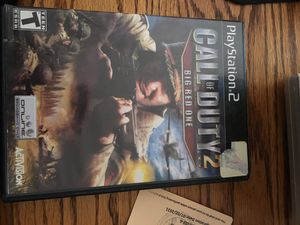 Call of Duty 2 Big Red One for PlayStation 2 for Sale in Lewis Center, OH