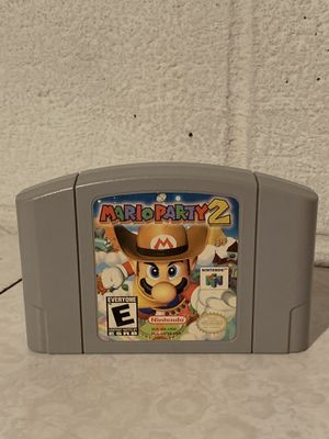 Mario Party 2 Nintendo 64 Authentic Cartridge Only Tested for Sale in Euclid, OH