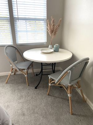 Table with bistro chairs for Sale in Leander, TX