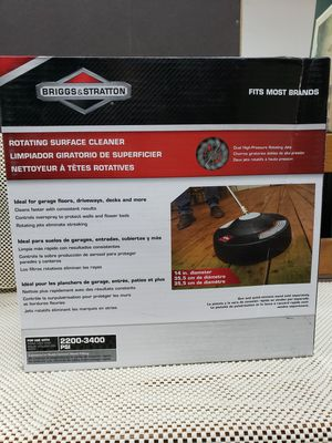 Briggs and Stratton 6328 14 inch surface for Gas Pressure Washers Up to 3200 PSI for Sale in Chicago, IL
