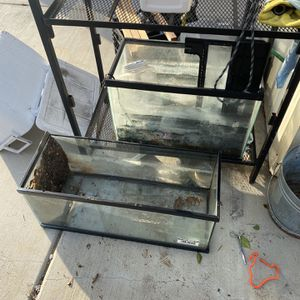 2 Fish Tanks for Sale in Chino, CA