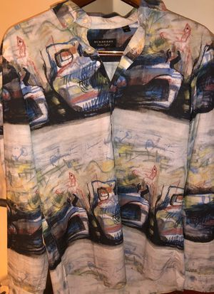 Burberry Abstract Print shirt for Sale in Grand Prairie, TX