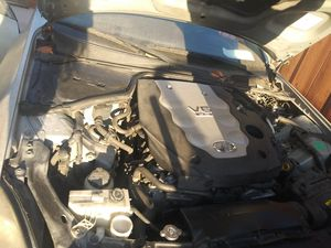 Infiniti G35 2003 for parts sedan taking offers need it gone and needs to be towed it was raining doesn't want to start battery or ignition or starter for Sale in San Diego, CA