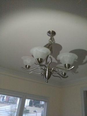 Hanging chandelier light fixture for Sale in Smyrna, GA