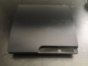 PS3 Console- 160 GB, Black, w/Cord for Sale in San Diego, CA