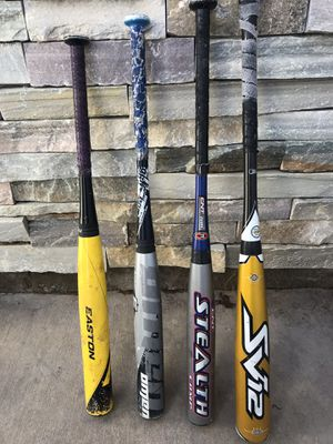 Easton Baseball Bats. $ OBO for Sale in Palmdale, CA