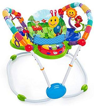 Like new condition!! Baby Einstein bouncer bundle!! for Sale in Phoenix, AZ