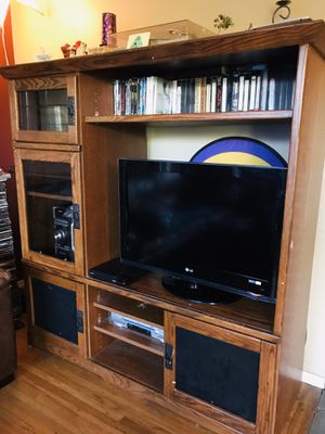 Free entertainment center for Sale in Portland, OR