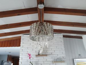 beautiful chandelier for sell only 3 months used for Sale in Miami, FL