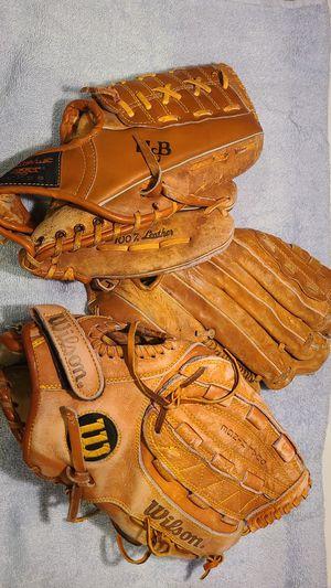 Baseball Gloves Lot for Sale in Phoenix, AZ