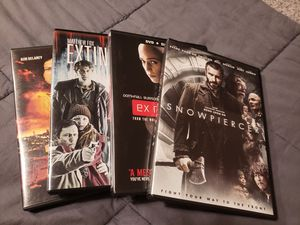 Bundle of 4 post-apocolyptic DVDs for Sale in Gresham, OR