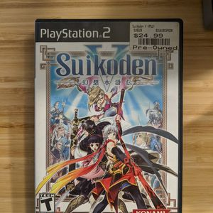 Suikoden V for PS2 for Sale in Buena Park, CA