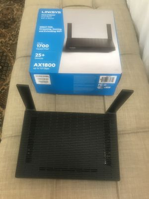 Linksys WiFi 6 1.8gbps router mesh for Sale in San Diego, CA