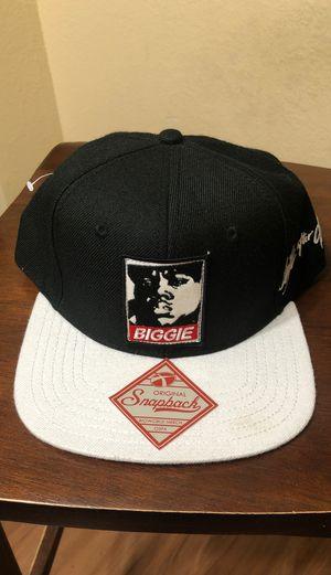 Notorious B.I.G. Biggies smalls snapback hat classic hip-hop emcee New York legend rapper for Sale in Mesquite, TX