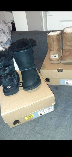 UGG boots BOTH for $70 *OBO* size 7 for Sale in National City, CA