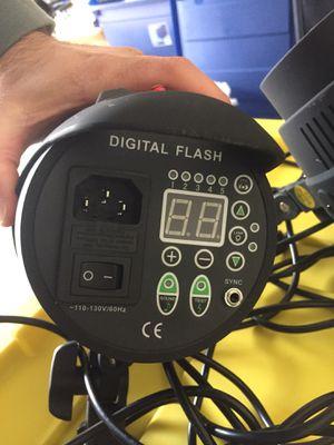 (I have 2 of them) FSTPHOTO PEGASUS DIGITAL FLASH LIGHTS -110-130V/60HZ ($50 each) for Sale in Murrieta, CA