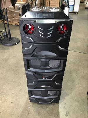 """Big Bluetooth Party Speaker Dual 12"""" Speaker for Sale in Chino, CA"""