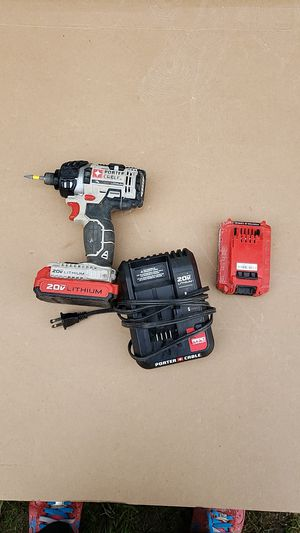Porter cable impact drill as you see in the picture $60 for Sale in Seattle, WA