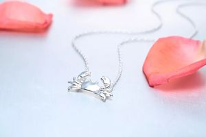 New Women's Silver Crab Necklace for Sale in Sykesville, MD