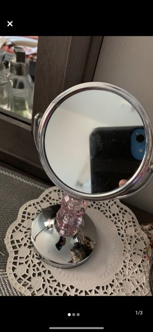 Beauty mirror two magnifications size small for Sale in Guttenberg, NJ