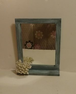 Shabby chic mirror with shelf for Sale in Westwood, NJ