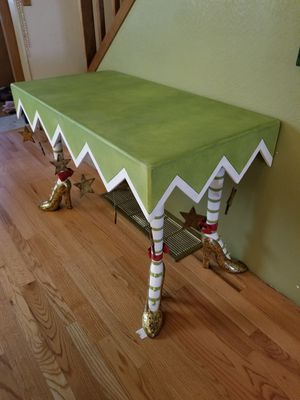 Hand made Christmas or Halloween table for Sale in Yelm, WA