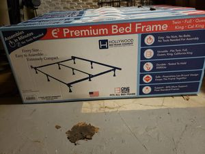 Bed frame fits any size Mattress for Sale in New York, NY