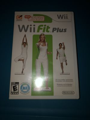 Wii fit game pre owned for Sale in Maynard, MA