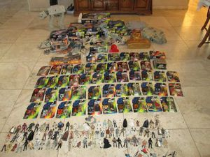 Large collection of 1990s Star Wars toys and action figures for Sale in Phoenix, AZ